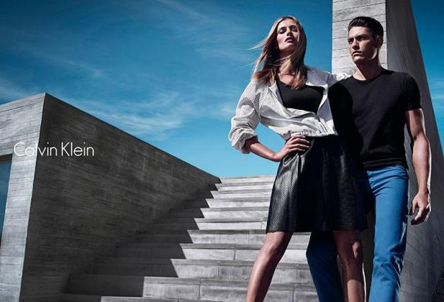 Edita Vilkeviciute Calvin Klein White Label S/S 2014